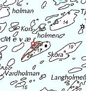 fleinvær kart Mevær (Fleinvær)