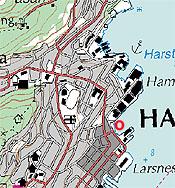 kart over harstad Harstad (Hinnøya) kart over harstad
